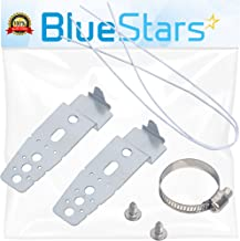 Ultra Durable 5001DD4001A Dishwasher Mounting Brackets Replacement Part by Blue Stars - Exact fit for LG Dishwashers - Replaces PS3525525 AH3525525 AP4438292 1266844