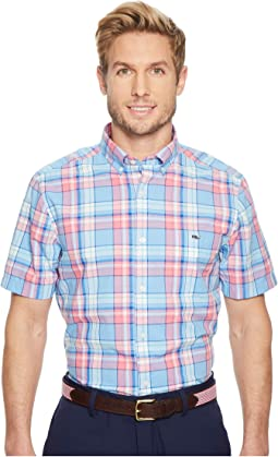 Vineyard Vines - Bluff House Plaid Short Sleeve Classic Tucker Shirt
