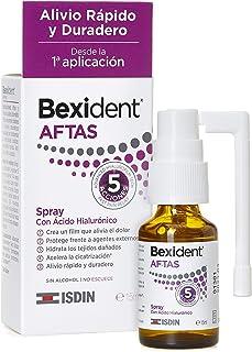 Isdin Bexident Aftas Spray con Ácido Hialurónico |Aftas Llagas Bucales, Alivio Rápido y Duradero desde la primera aplicaci...