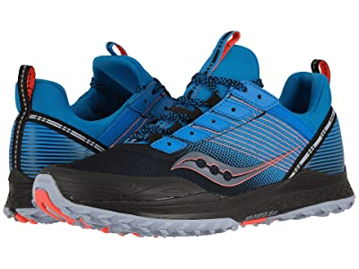 Saucony Mad River TR (Blue/Black) Men
