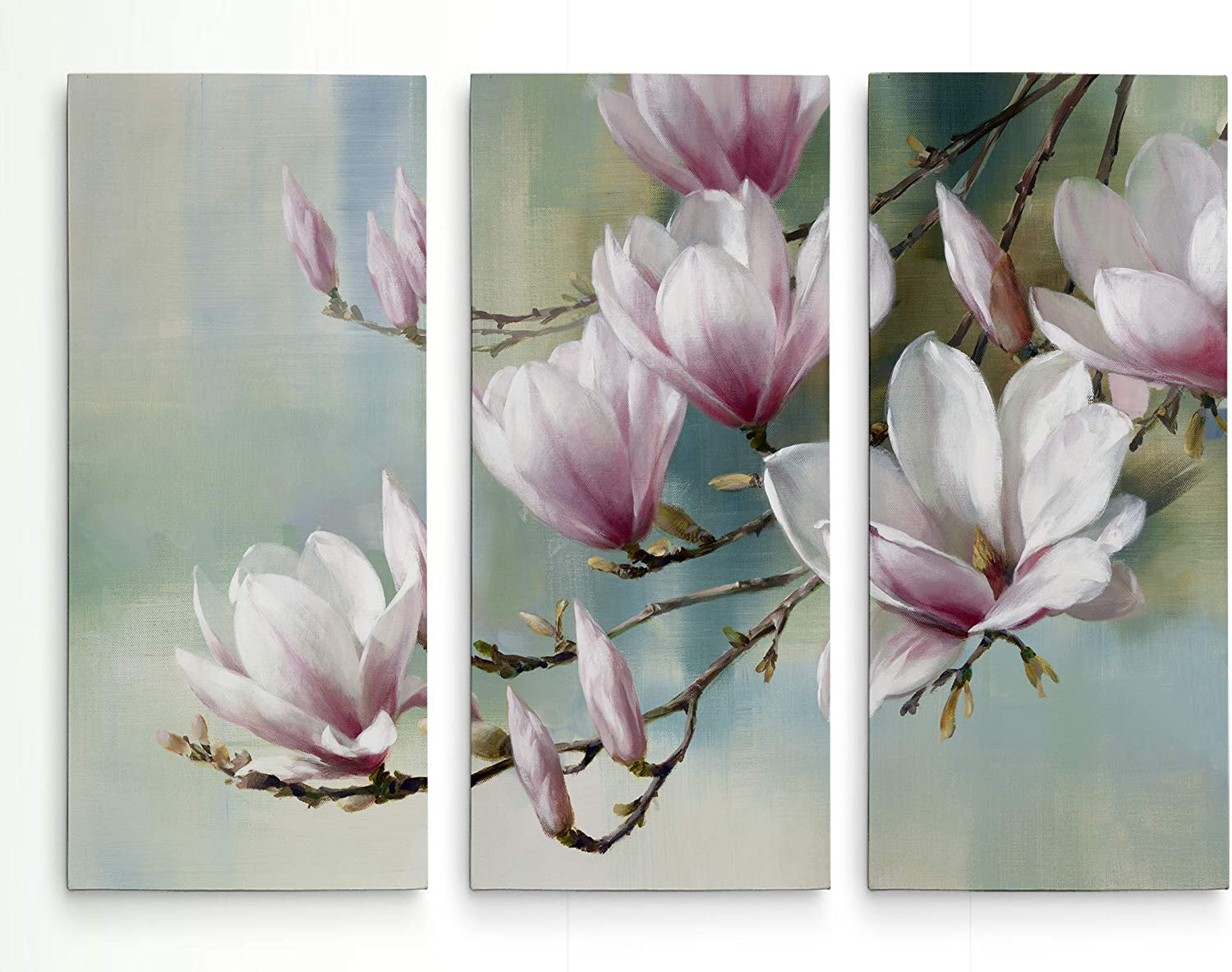 WEXFORD HOME Great interest Magnolia Morning 3 Wal Wrapped OFFicial mail order Gallery Canvas Panel