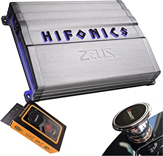 $139 » Hifonics ZG-1800.1D Zeus Gamma 1 Channel Super D Class 1800 Watt Car Audio Sound System Subwoofer Speaker Amp Amplifier wi...