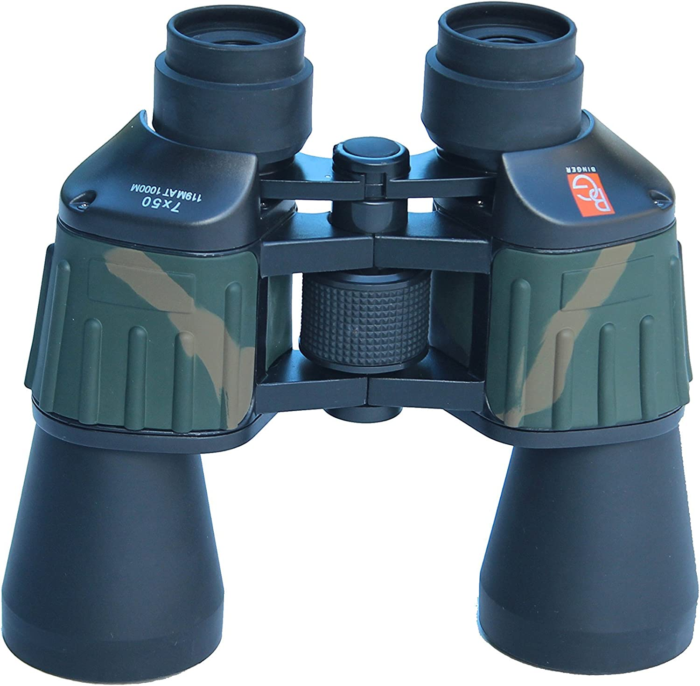 Financial sales sale Binger CB750 7X50 Porro Prism shopping Wide Binoculars F 7 BK Angle