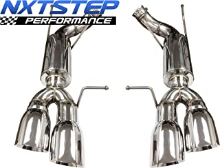 NXT Step Performance Axle Back Exhaust System compatible with 2013-2014 Ford Mustang GT-500 | EX3050
