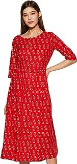 global desi Cotton a-line Dress