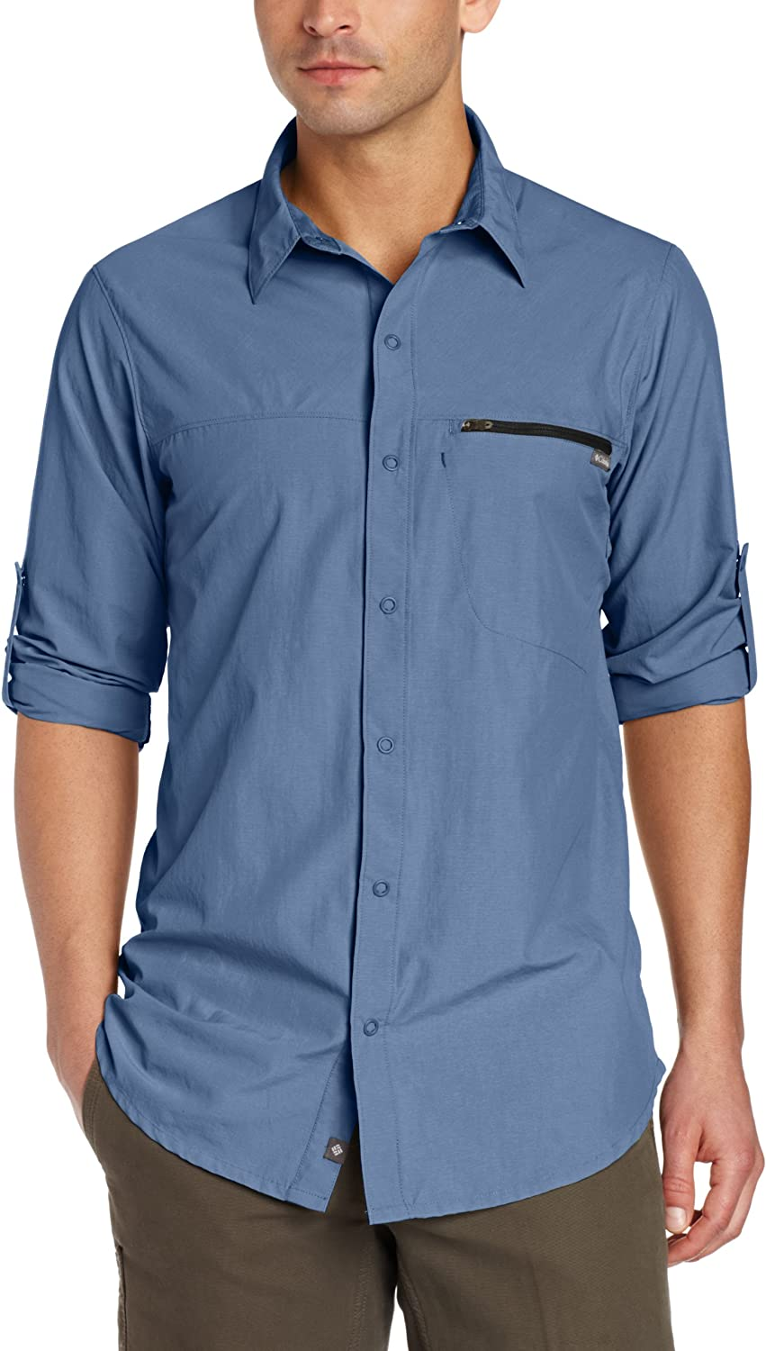 Columbia Men's Cool Creek Shirt Long 100% Year-end annual account quality warranty Sleeve