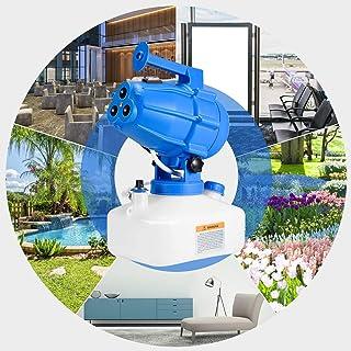 KKTECT Rociador ULV eléctrico 5L, Nebulizador eléctrico portátil 5L ULV Fogger Pulverizador eléctrico de jardín de 3 boqui...