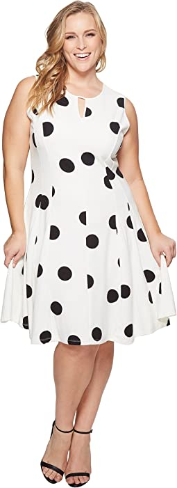 KARI LYN - Plus Size Peyton Sleeveless Dress