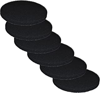 6 Carbon Impregnated Foam Pads for Fluval FX4 / FX5 / FX6 Canister Filter by Zanyzap