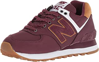 New Balance Women's 574v2 Sneaker, Burgundy, 6.5 B US