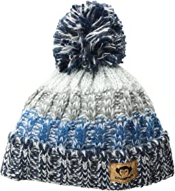 Tricolored with Puff Ball Ivan Hat (Infant/Toddler/Little Kids/Big Kids)
