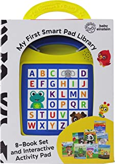 Baby Einstein: My First Smart Pad Library: Electronic Activity Pad and 8-Book Library