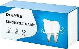 DrSmile Premium Hassas Olmayan Diş Beyazlatma Kiti/LED Parlaklık/Lekeleri Kaldıran Beyazlatılmış Jel/Ağız Tepsisi &...