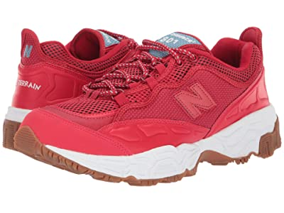 New Balance Classics 801 (Team Red/White Munsell Leather) Men