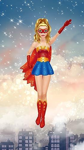 『ヒーロー女の子 きせかえ - 着せ替え & メイク 女の子のゲーム』の6枚目の画像