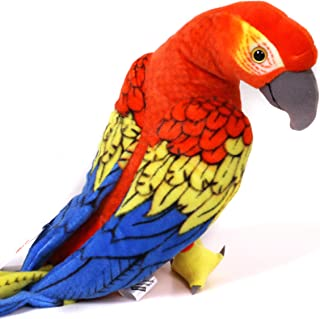VIAHART Miguelita The Macaw | 16 Inch Large Parrot Stuffed Animal Plush Bird | by Tiger Tale Toys