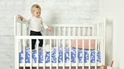 Premium Fitted Knit Crib Sheet//Toddler SheetAlta by Copper Pearl