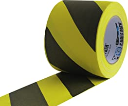 ProTapes Cable Path Cured Rubber Resin Zone Coated Gaffers Tape, 12.5 mil Thick, 30 yds Length, 4