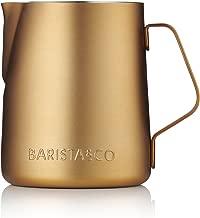 Barista & Co Milk Jug, Midnight Gold