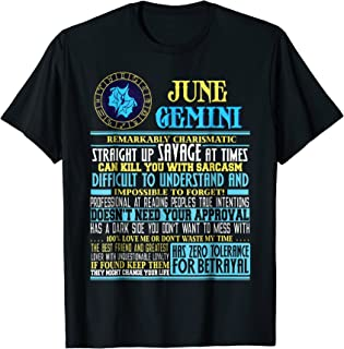 Amazon com: Gemini Man - Novelty & More: Clothing, Shoes