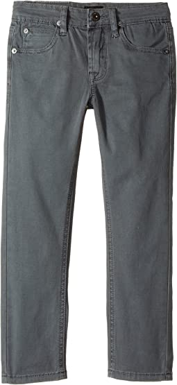 Hudson Kids Jagger Slim Straight Twill in Unconquered (Toddler/Little Kids/Big Kids)