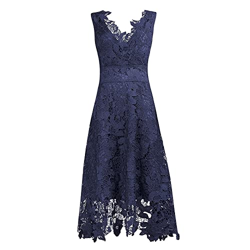Navy Blue Dress For Wedding Guest Amazon Com