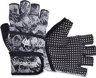 CHICMODA Women's Men's Weight Lifting Gym Gloves 18