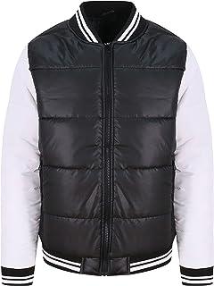 Awdis Just Hoods JH049 Unisex Varsity Puffer Jacket