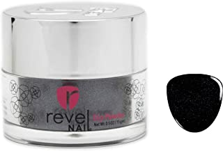 Revel Nail Dip Powder   for Manicures   Nail Polish Alternative   Non-Toxic & Odor-Free   Crack & Chip Resistant   Can Last Up to 8 Weeks   2 oz Jar   Shimmer   (Gravel, 2oz)