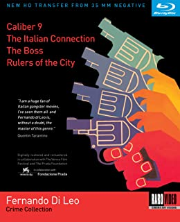 Fernando Di Leo Crime Collection: (Caliber 9 / The Italian Connection / The Boss / Rulers of the City)