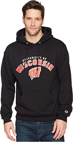 Champion College - Wisconsin Badgers Eco® Powerblend® Hoodie 2
