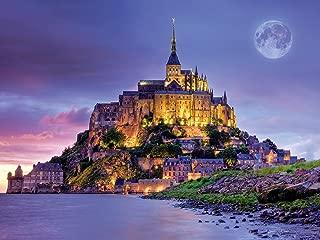 Buffalo Games - Majestic Castles - Mont Saint Michel France - 750 Piece Jigsaw Puzzle