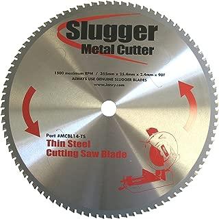 Jancy Slugger MCBL14-TS Thin Steel Saw Blade, 14