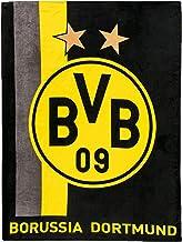 Kuscheldecke 150 x 200 cm Plus Lesezeichen I Love Dortmund Borussia Dortmund Fleecedecke Decke BVB 09 Stadion
