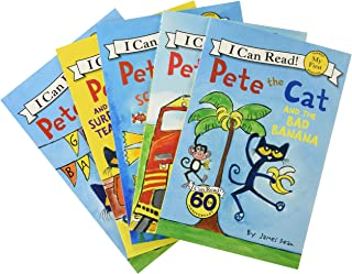 Pete the Cat: Big Reading Adventures: 5 Far-Out Books in 1 Box!