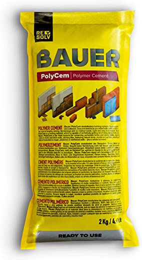 Resolv :: Bauer PolyCem – gebrauchsfertiger Polymerzement