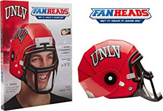 FanHeads Wearable College Football Helmets (All Team Options) – Reinforced Laminated Cardboard Adjustable Helmet – One Size, Official NCAA Merchandise for Fans, Alumni, Students, Dorm Room Decor