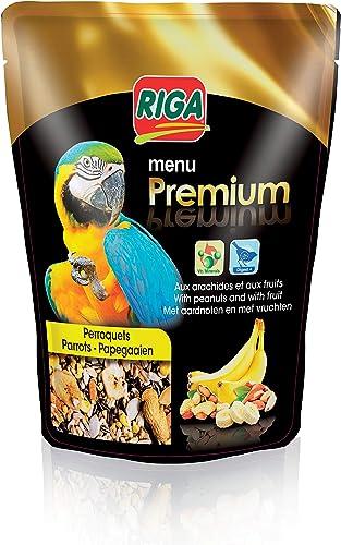 Riga (petfood) Menu Premium Perroquets Fruits et Noix Doypack de 800 g