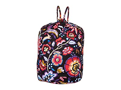 Vera Bradley Iconic Ditty Bag (Foxwood) Backpack Bags