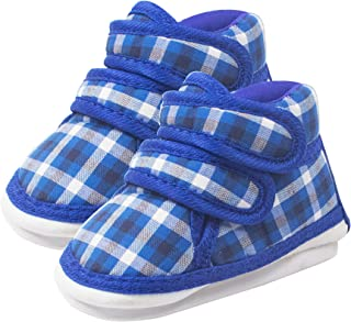 Ole Baby Touch Fastner with Lace Whistle Musical Outdoor First Walking Shoes Sole Size- 11.4 cm 6 to 9 Months.
