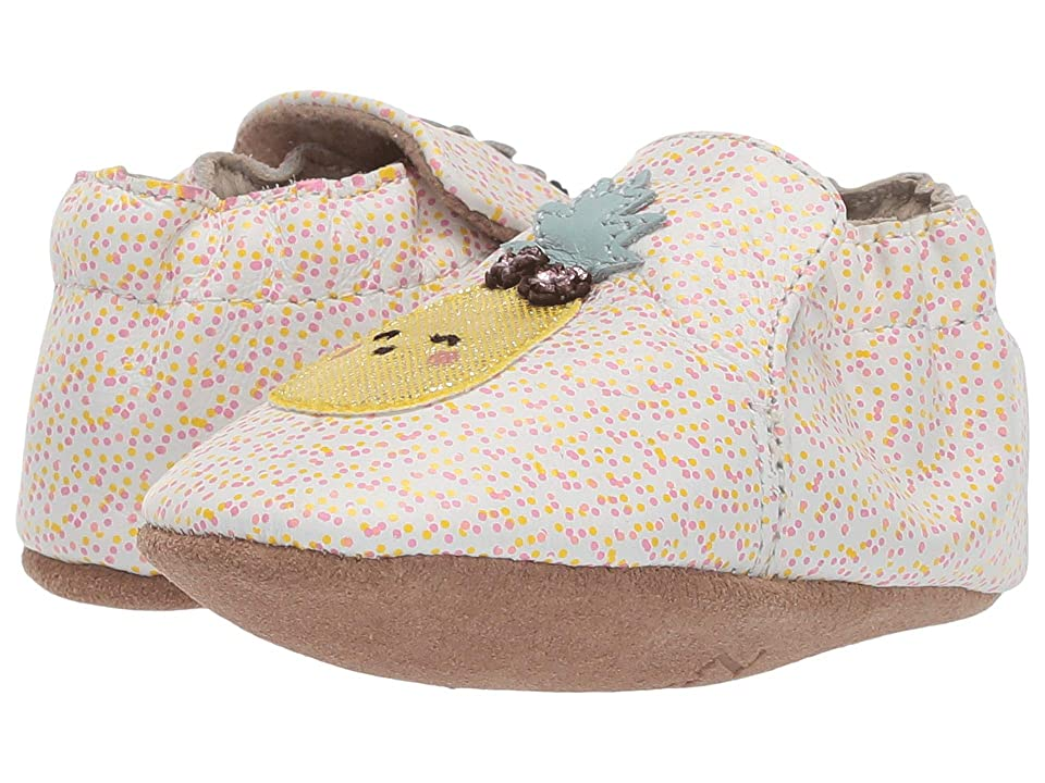 Robeez Happy Fruit Soft Sole (Infant/Toddler) (Beige/Sand) Girl