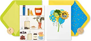 Papyrus Get Well Soon Cards, Remedies and Balloons (2-Count)