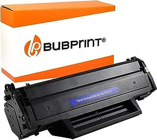 Bubprint Toner Compatible con Samsung mlt-d111 mlt-d111s/ELS (50% Más) 1.500 páginas Xpress M2020 M2020W M2022 M2022W M2026W M2070 M2070W sl-m2026w