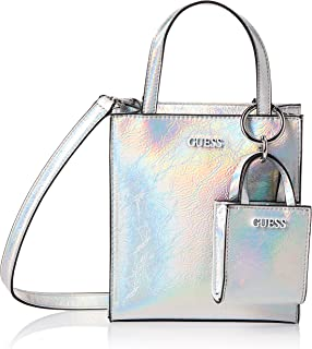 Guess Mini Shopper Picnic Iridescent Silver