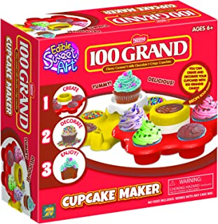 AMAV Cupcake Maker Kit - DIY Toy Make & Decorate Your Own Cupcakes - Easy & Safe to Use-No Oven Required - Perfect Group Activity & Best for Young Chefs & Cupcake Lovers