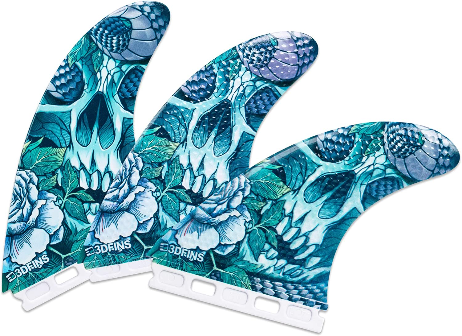 3DFINS High Performance Dallas New Orleans Mall Mall Surfboard Fins 3 Large GOHARD Thruster