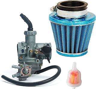 OxoxO ersetzen Vergaser Carb Air Filter Reiniger 38mm mit Kraftstoff Filter für Honda 3Wheeler ATC 110ATC1101979–1985