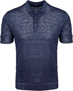TAGLIATORE Luxury Fashion Mens JOSE587GSE2010590 Blue Polo Shirt | Spring Summer 20