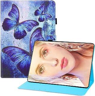 Miagon för Huawei MediaPad M5 Lite 10 {10.1 tum} 2018 skal, PU-läder folio stativ plånbok magnetiskt fodral med kortficko...