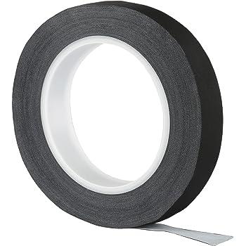 LIHAO Rollo de Cinta Aislante de Tela para Cables Cinta Adhesiva Aislada Negra 30M x 1,9 CM x 0,2 MM: Amazon.es: Hogar
